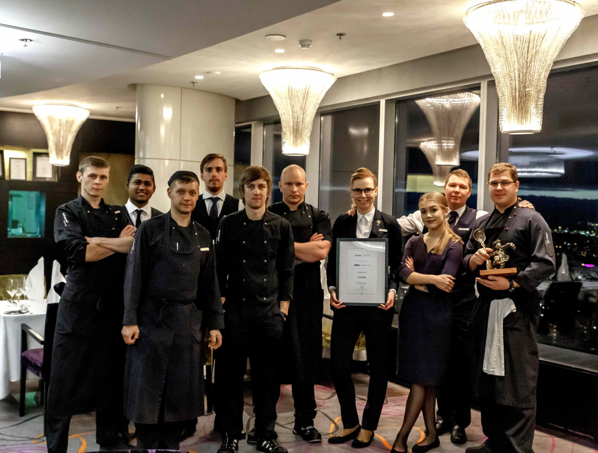 Silverspoon 2018 parima fine dining auhinna võitis Horisont restoran